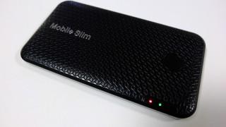 モバイルルーター mobile slim