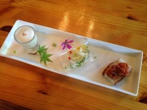 久喜市の釜焼きイタリア式食堂ブランの前菜