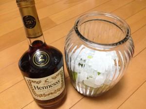 ブランデー(ヘネシー)で梅酒を作っちゃおう♫