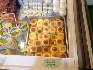 山本小屋ふる里館オススメのチーズケーキ
