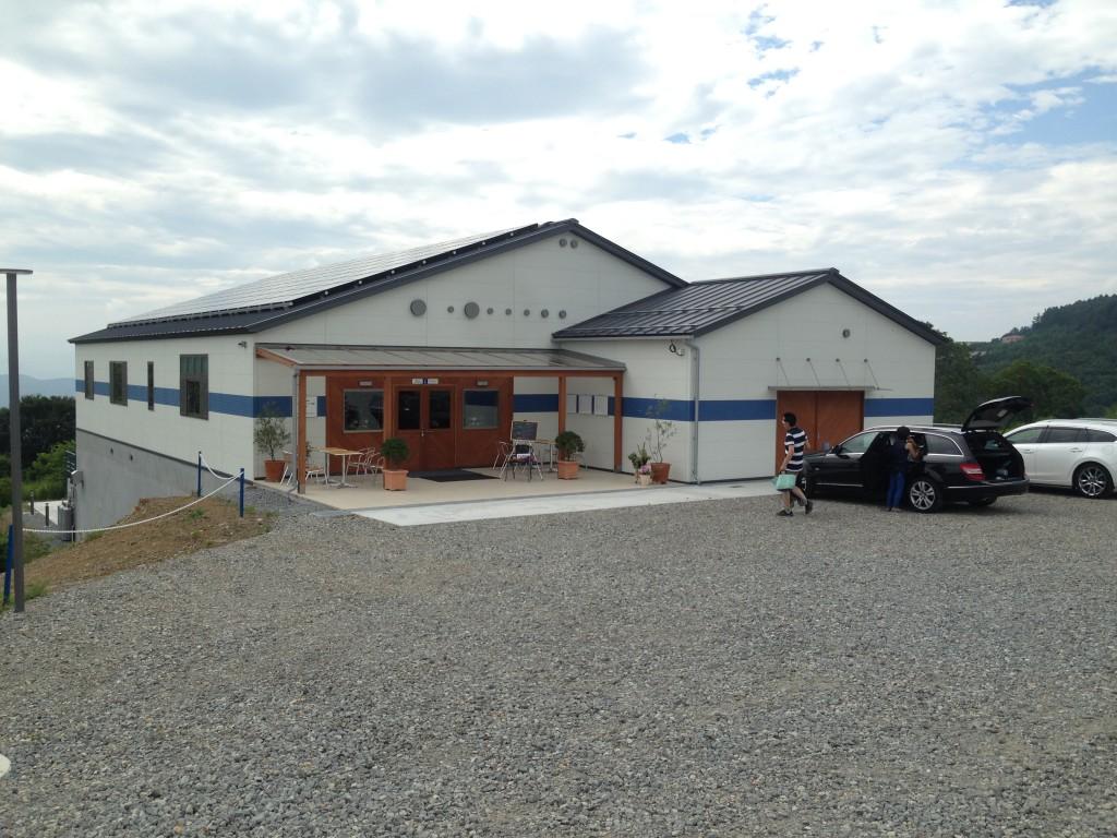 長野県東御市 アルカンヴィーニュ 外観