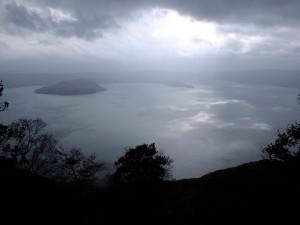 十和田湖 御鼻部山展望台からの景色